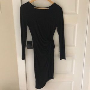 Perfect condition Lush Brand Black wrap dress